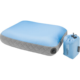 Cocoon Air Core Pillow Ultralight Mid light-blue/grey